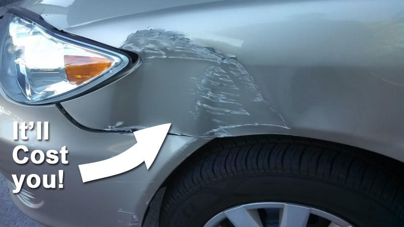 car-dent